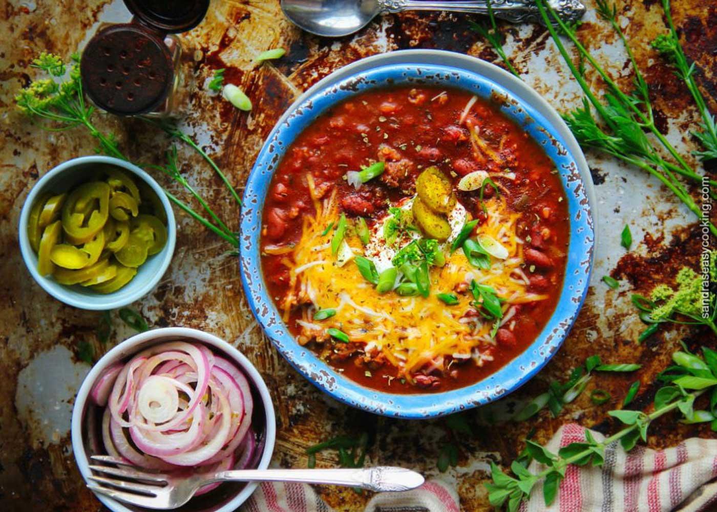 Cooks Corner - Sausage Chili